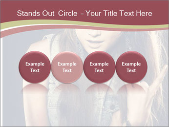 Beautiful girl PowerPoint Template - Slide 76