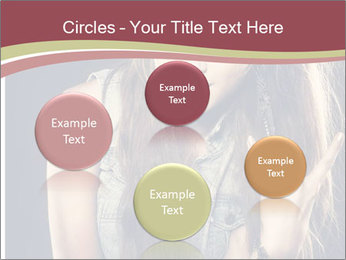 Beautiful girl PowerPoint Templates - Slide 77