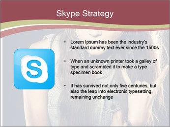 Beautiful girl PowerPoint Template - Slide 8