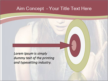 Beautiful girl PowerPoint Template - Slide 83