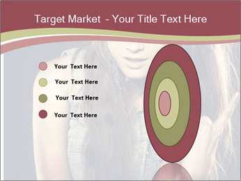 Beautiful girl PowerPoint Template - Slide 84