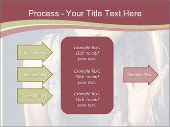 Beautiful girl PowerPoint Template - Slide 85