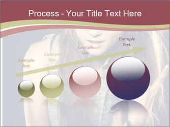 Beautiful girl PowerPoint Template - Slide 87