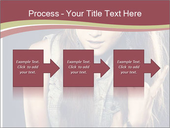 Beautiful girl PowerPoint Templates - Slide 88