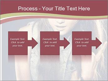 Beautiful girl PowerPoint Template - Slide 88