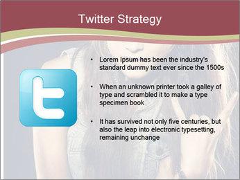 Beautiful girl PowerPoint Template - Slide 9