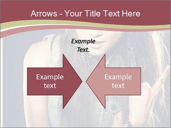 Beautiful girl PowerPoint Template - Slide 90