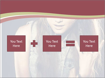 Beautiful girl PowerPoint Template - Slide 95