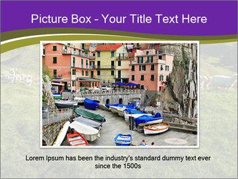 Sheep running PowerPoint Template - Slide 16