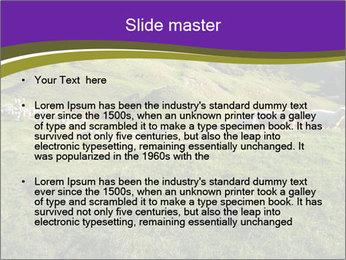 Sheep running PowerPoint Template - Slide 2