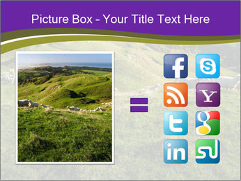 Sheep running PowerPoint Template - Slide 21