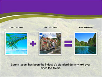 Sheep running PowerPoint Template - Slide 22