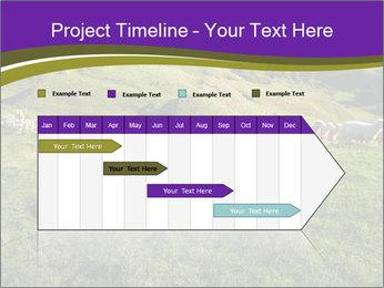 Sheep running PowerPoint Template - Slide 25