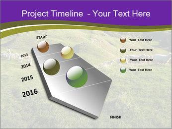 Sheep running PowerPoint Template - Slide 26