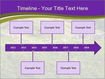 Sheep running PowerPoint Template - Slide 28