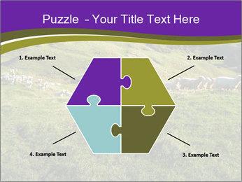 Sheep running PowerPoint Template - Slide 40