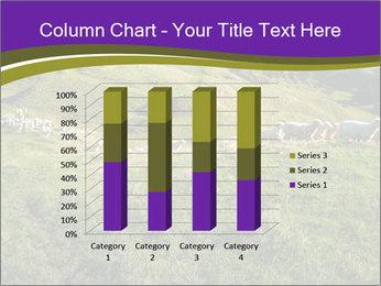 Sheep running PowerPoint Template - Slide 50