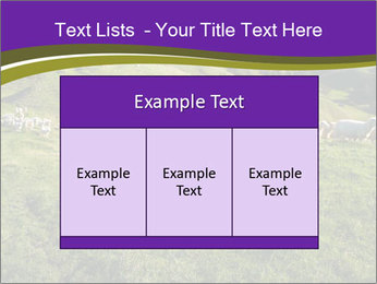 Sheep running PowerPoint Template - Slide 59