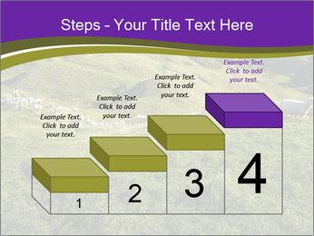 Sheep running PowerPoint Template - Slide 64