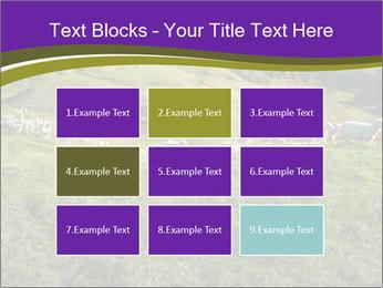 Sheep running PowerPoint Template - Slide 68