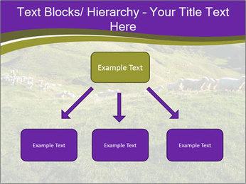 Sheep running PowerPoint Template - Slide 69