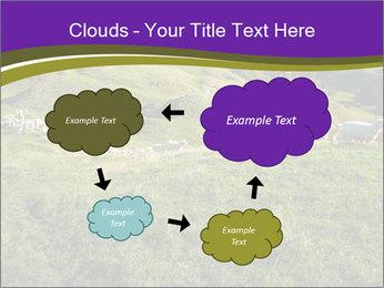 Sheep running PowerPoint Template - Slide 72