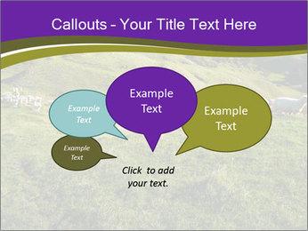 Sheep running PowerPoint Template - Slide 73