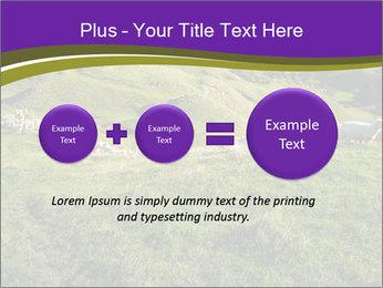 Sheep running PowerPoint Template - Slide 75