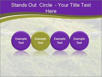 Sheep running PowerPoint Template - Slide 76