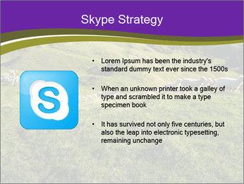 Sheep running PowerPoint Template - Slide 8