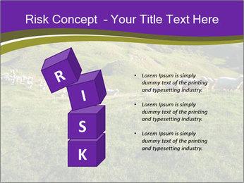 Sheep running PowerPoint Template - Slide 81