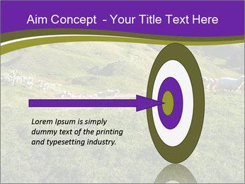 Sheep running PowerPoint Template - Slide 83