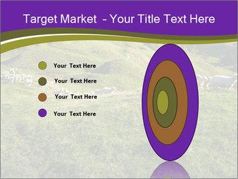 Sheep running PowerPoint Template - Slide 84
