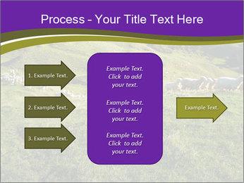 Sheep running PowerPoint Template - Slide 85