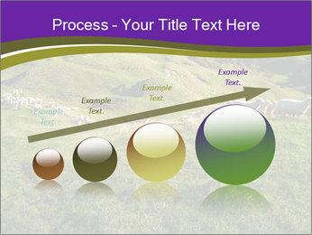 Sheep running PowerPoint Template - Slide 87