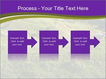 Sheep running PowerPoint Template - Slide 88