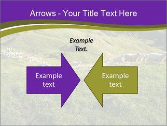 Sheep running PowerPoint Template - Slide 90