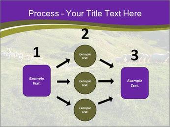 Sheep running PowerPoint Template - Slide 92