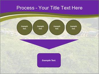 Sheep running PowerPoint Template - Slide 93