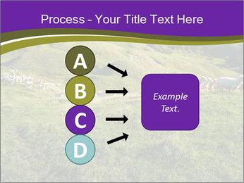 Sheep running PowerPoint Template - Slide 94