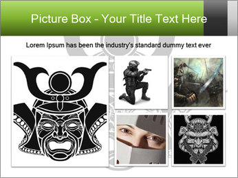 Fearsome monochrome PowerPoint Template - Slide 19