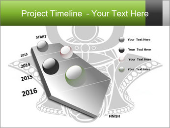 Fearsome monochrome PowerPoint Template - Slide 26