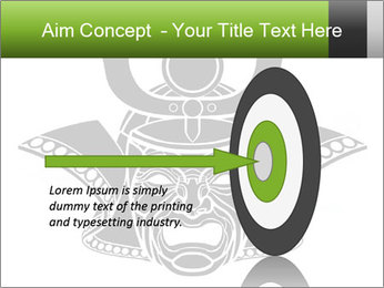 Fearsome monochrome PowerPoint Template - Slide 83