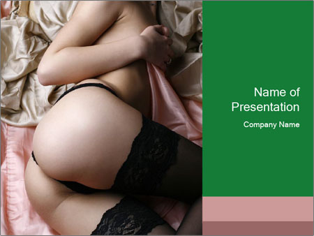 Sexy stockings PowerPoint Templates