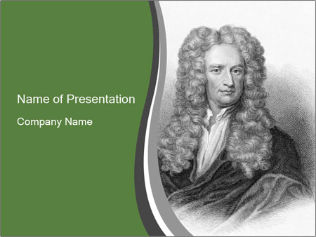 Isaac Newton PowerPoint Template
