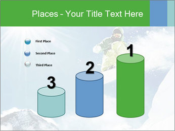 Snowboarder at jump PowerPoint Template - Slide 65