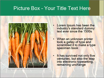 Fresh carrots PowerPoint Template - Slide 13