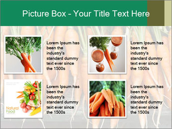 Fresh carrots PowerPoint Template - Slide 14