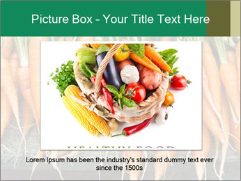 Fresh carrots PowerPoint Template - Slide 15