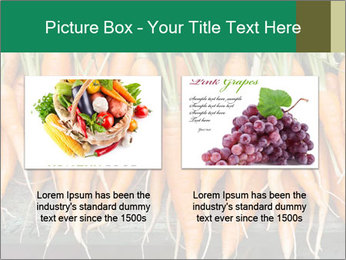 Fresh carrots PowerPoint Template - Slide 18
